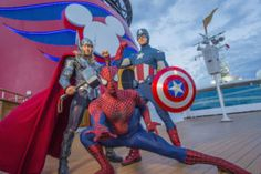 Disney Cruise Line Introduces First-Ever Marvel Day at Sea on Select Sailings Fall 2017 - http://www.premiercustomtravel.com/blog1/?p=3811 #DisneyCruiseLine, #DisneyMagic, #MarvelDayAtSea