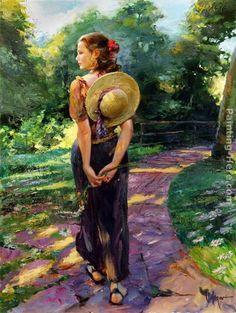 Vladimir Volegov - Sun Drenched Garden