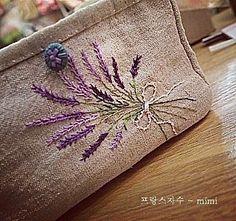 #embroidery#stitch#needlework  #프랑스자수#일산프랑스자수#자수  #라벤더의 계절 ~