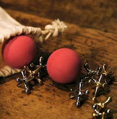 "Playing ""jacks"" was a favorite passtime in elementary school. One Christmas Mama bought a set of jacks to give to every girl in my class. Every girl had her own set of jacks."