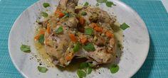 Κουνέλι ριγανάτο Chicken, Meat, Recipes, Food, Essen, Meals, Ripped Recipes, Yemek, Eten