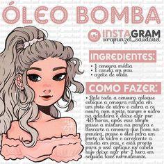 🌿 Amores esse óleo ajuda muito a acelerar o crescimento do cabelo 💓 . . Benefícios da cenour Face Hair, Your Hair, Beauty Secrets, Beauty Hacks, Hair Chart, Beauty Care, Hair Beauty, Hair Gloss, Spa Specials
