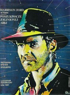 Poszukiwacze Zaginionej Arki / polski plakat