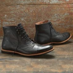 Mens Timberland Boot Company® Wodehouse Cap Toe Boot - Timberland || Who'da thought Timberland would be making purdy boots like these?