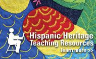 Hispanic Heritage Month Teaching Resources from The Smithsonian Center for Education and Museum Studies #history #hispanic #heritage #latino #culture