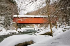 McConnell's Mill Covered Bridge by Tom Darby on 500px