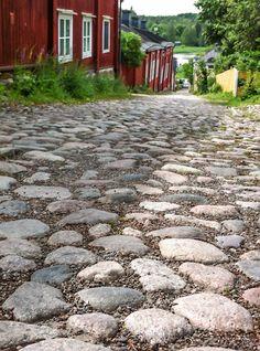 Cobbled Streets - Porvoo Finland