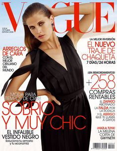 Malgosia Bela in Lanvin by David Vasiljevic Vogue España October 2008