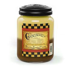 Bourbon Roasted Pecans 26oz Jar >>> Click image to review more details.