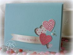 Stampin' Up! Valentine  by Penny Smiley at Stampsnsmiles: Happy 16th Birthday