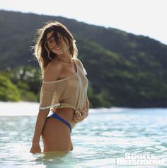 Anastasia Ashley Swimsuit Photos - Sports Illustrated Swimsuit 2014 - SI.com Photographed by Adam Franzino in Guana Island
