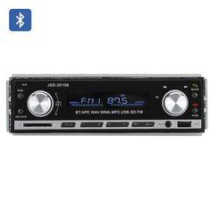 1 DIN Bluetooth Car Stereo