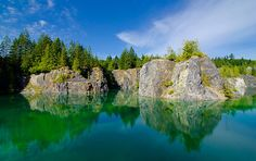 Heisholt (Quarry) Lake, Texada Island, BC - Darren Robinson Photography Quarry Lake, Vancouver City, Before I Die, British Columbia, Geography, Great Places, North America, Islands, Golf Courses