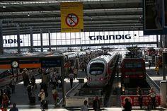 Munich, Germany - Main train station via Flickr