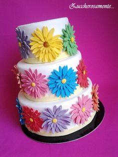 Gerbera cake: come fare per creare una torta fiorita. Free tutorial