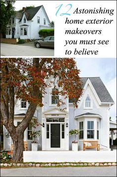 via BHG home exterior makeovers you won