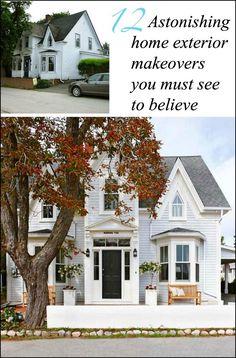 via BHG home exterior makeovers you won