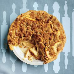 After a brief time in a 450-degree oven, this pie bakes at 350 degrees. You'll want to use an oven thermometer to monitor the temperature. Because of the dense filling, a long cooling time is essential before slicing and serving.