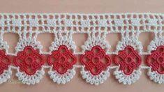 Crochet Borders, Filet Crochet, Knit Crochet, Woolen Dresses, Crochet Earrings, Projects To Try, Towel, Crafts, Ely