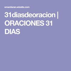 31diasdeoracion | ORACIONES 31 DIAS
