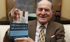 #Dr Henry Heimlich uses Heimlich manoeuvre for first time, aged 96 - The Guardian: The Guardian Dr Henry Heimlich uses Heimlich manoeuvre…