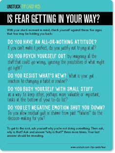 Unstuck's Best Advice of 2013