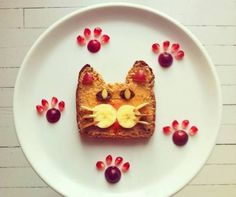 Amazing food art ideas for kid-friendly meals Cute Food, Good Food, Yummy Food, Healthy Food, Healthy Rice, Dessert Healthy, Healthy Treats, Healthy Nutrition, Eating Healthy