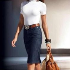 """Sale Ralph Lauren DarkDenim Jean skirt LAUREN JEANS CO. BY Ralph Lauren. This is a petite knee length skirt. Measures: hip from side to side lying flat- 15"""" Waist lying flat- 18 1/2"""" Length from waist to hem- 21"""" new without tag. Ralph Lauren Skirts Midi"""