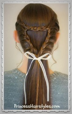Triangle or heart braid video tutorial