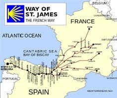 Camino de Santiago (route descriptions) - Wikipedia, the free encyclopedia