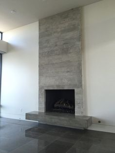 Wonderful Images Fireplace Hearth tile Ideas Excellent Photo Fireplace Hearth removal Concepts concrete fireplace concrete fireplace surround c Stucco Fireplace, Fireplace Tv Wall, Build A Fireplace, Concrete Fireplace, Fireplace Remodel, Modern Fireplace, Fireplace Surrounds, Fireplaces, Contemporary Fireplace Designs