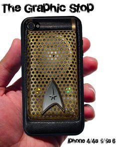 inspired Star Trek Communicator trekkie iphone 4 4s iphone 5 5s iphone 5c iphone 6 & iPhone 6 Plus gear for iphone cases phone covers