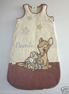 gigoteuse velours disney neuve bambi panpan taille 12-18 mois