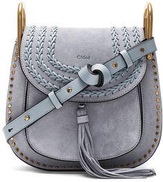 Chloe Small Suede Hudson Shoulder Bag