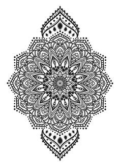 Sets Mandala tattoos by TattooLifeStyle on Etsy