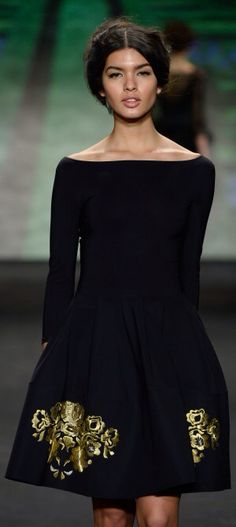 NY: La Petite Robe - Runway - Mercedes-Benz Fashion Week Fall 2015
