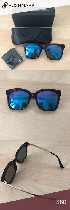 *NWT* Diff Bella Tortoise Polarized Sunglasses *BRAND NEW* Diff Bella tortoise + blue mirror polarized lens sunglasses. Packaging included.   Currently *SOLD OUT*  https://www.diffeyewear.com/products/bella-tortoise-gold-frame-blue-mirror-lens Diff Eyewear Accessories Sunglasses