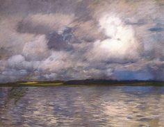 Исаак Левитан (1860-1900). Пастель.