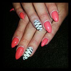 Zebra print Zebra Print, Nails, Beauty, Finger Nails, Ongles, Beauty Illustration, Nail, Nail Manicure