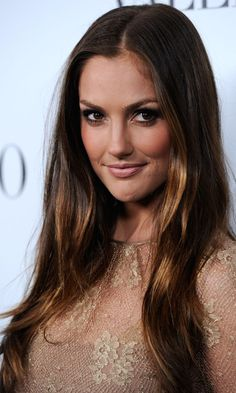 Minka Kelly golden brown