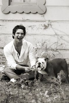 Actually loves animals. | 27 Reasons Tyler Posey Is The Most Sexdorable Actor Out There