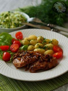 Kulinarne szaleństwa Margarytki: Eskalopki z cebulką