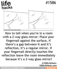 Two-sided glass