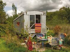 A 20 Square Meter French Bohemian Trailer 1 Kind Design Remodeling Mobile Homes, Home Remodeling, Bathroom Remodeling, Glamping, Trailer Park, Decoracion Vintage Chic, Houses In France, French Bohemian, Deco Boheme