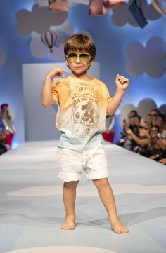 Look da Mini Us que desfilaram na passarela da Fashion Weekend Kids 2016 no Shopping Cidade jardim.