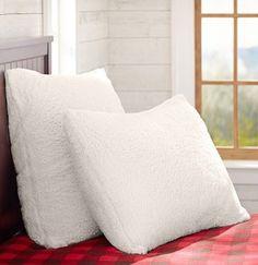 Pbteen Sherpa Euro Pillow