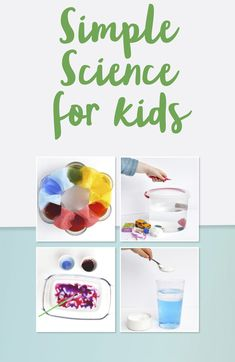 Simple science experiments for Science Week to do at home. Science Week, Easy Science Experiments, Science Ideas, Science For Kids, Eyfs Activities, Science Activities, Activities For Kids, Super Simple, Color Mixing