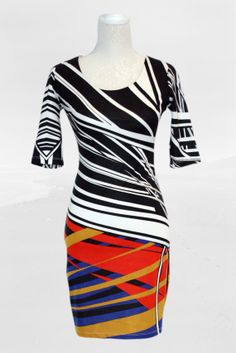 Superb A-line coloured cocktail dress, can be wear at parties, office, any important meeting. It looks great with heels. Vintage Shops, Looks Great, Cocktail, Parties, Bodycon Dress, Trending Outfits, Heels, Unique Jewelry, How To Wear