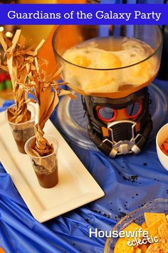 Housewife Eclectic: Guardians of the Galaxy Party with snacks and activties. #OwnTheGalaxy #Ad #Cbias