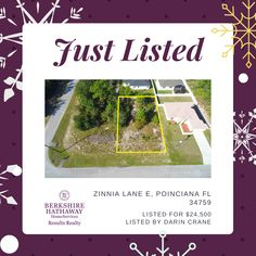 #vacantland #acreage #land #buyland #theyarentmakeingitanymore #poinciana #florida #forsaleinpoinciana #countrysetting #holidaylistings #forsaleoverchristmas #centralfloridarealtor #buildit #yourdreamhomeawaits Improve Yourself, Finding Yourself, Vacant Land, How To Buy Land, Find Homes For Sale, Central Florida, Zinnias, Next At Home, Investment Property